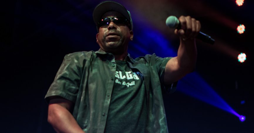 Tone Loc at the 2018 Festival of the Lakes, Hammond, Indiana